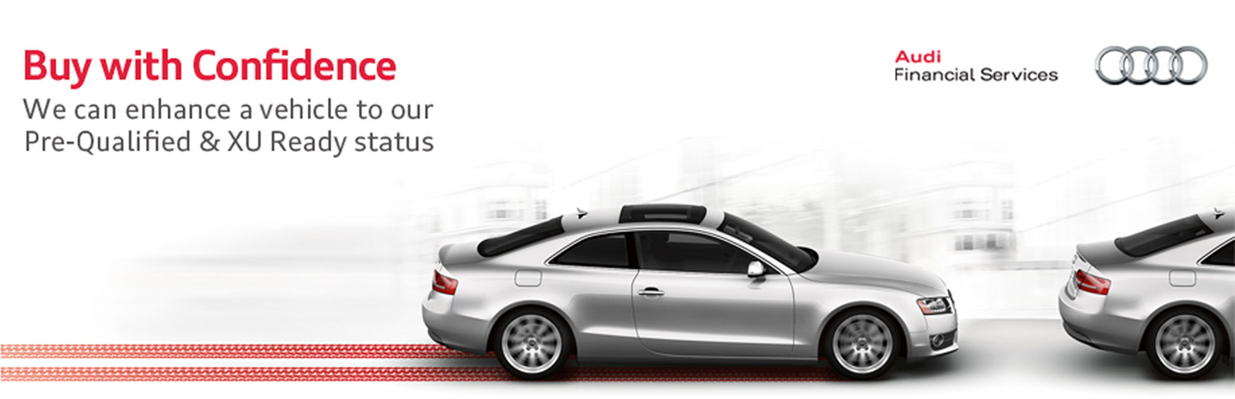 Audi Buy With Confidence - Audi financial